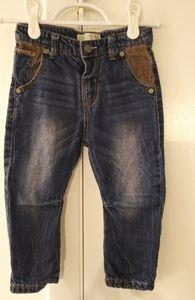 Zara jeans baby boy size 18/24m